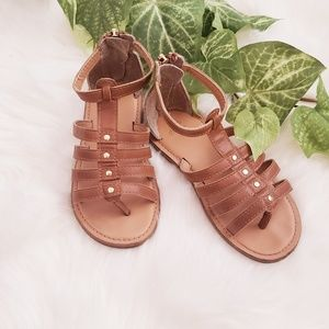 Gap Girls Tan Sandals Size 13